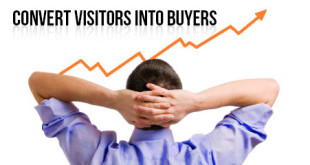 convert website visitors into buyers