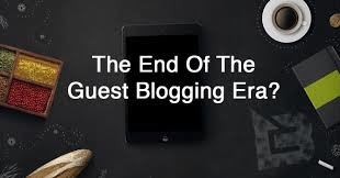 end of guest blogging